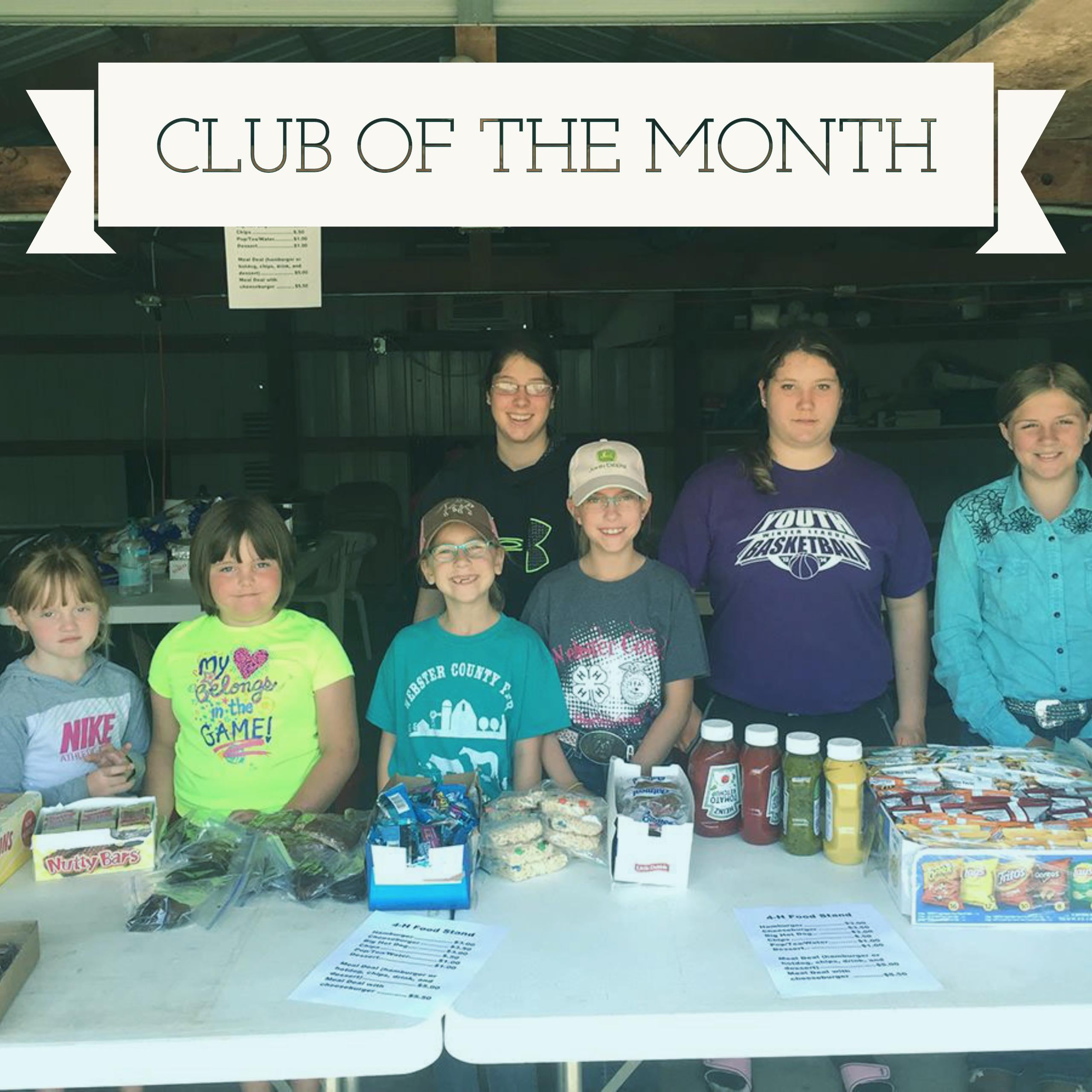 NE4H Club of the Month