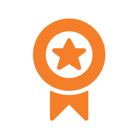 star medal award icon