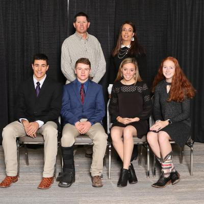 Nebraska State 4-H Livestock Judging team places at National contest
