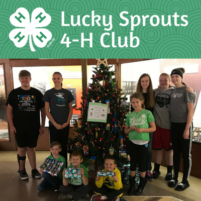 Lucky Sprouts Nebraska 4-H Club of the Month