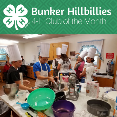 Bunker Hillbillies 4-H Club of the Month