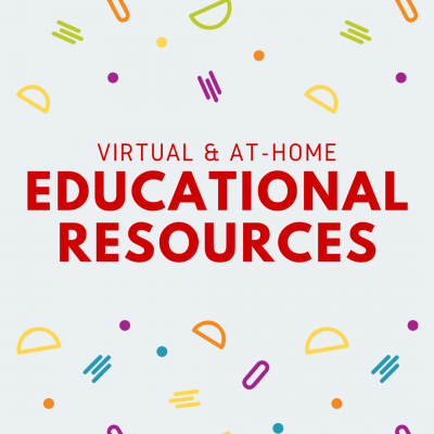 virtual and at-home educational resources