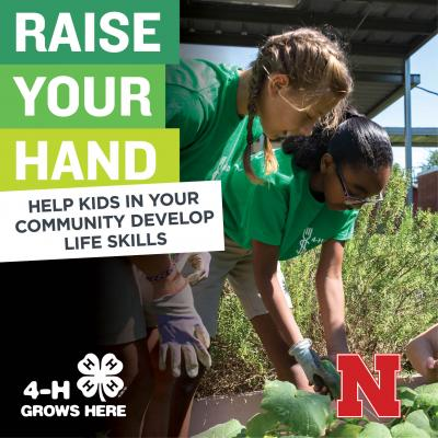 Raise Your Hand and help kids in your community develop life skills