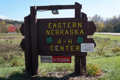 Eastern Nebraska 4-H Center sign