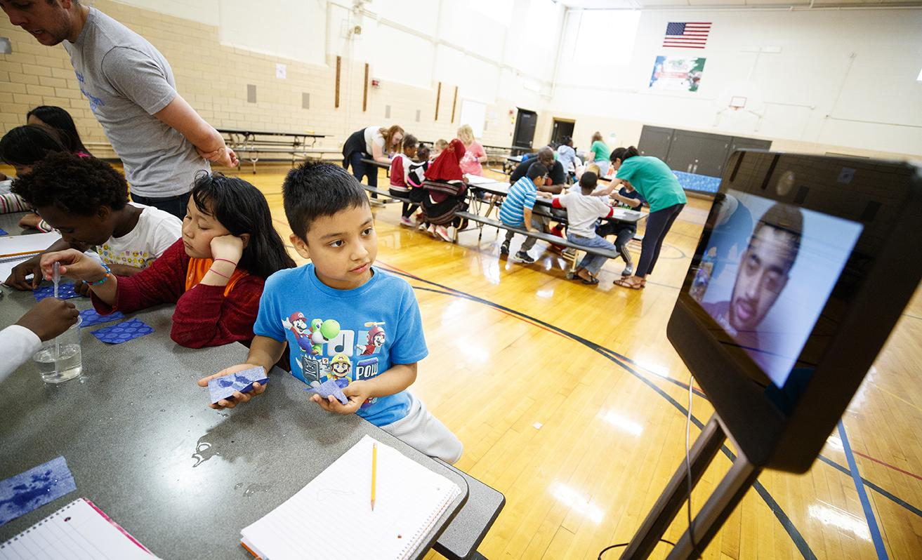 STEMentors remote delivery of STEM-related educational programs
