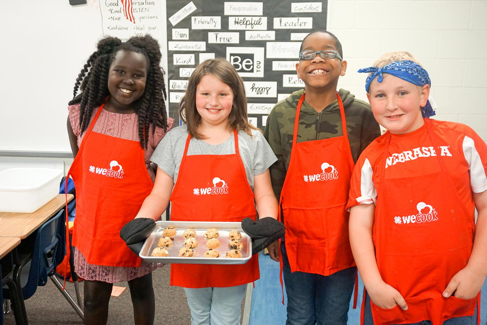 WeCook 4-H afterschool healthy living program